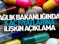 Döviz saldırıları sonrası : Sağlık Bakanlığı'ndan 'ilaç fiyatı' açıklaması
