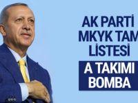 Erdoğan'ın a takımında beklenmedik isim