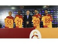 Galatasaray'da Toplu İmza Töreni