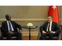 Cumhurbaşkanı Yardımcısı Oktay Sudanlı Mevkidaşı İle Bir Araya Geldi