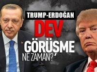 """Şaşırtan duyuru : """"Erdoğan ve Trump yüz yüze görüşebilir"""""""