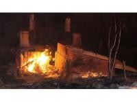 Kastamonu'da Yangında 8 Ev Kullanılmaz Hale Geldi