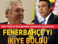 """Aziz Yıldırım: """"Benim için Fenerbahçe defteri kapanmıştır"""""""