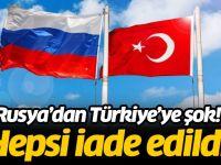 Rusya Tonlarca ürünü Türkiye'ye iade etti! Fiyatlar ucuzlayacak