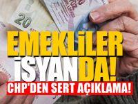 CHP'den, bayrama parasız giren emeklilere ilişkin açıklama