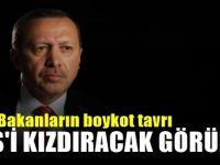 Erdoğan 'boykot' dedi, bakanları dinlemedi