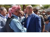 Bakan Soylu Cizre'de Vatandaşlarla Bayramlaştı