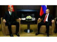 Türkiye Cumhuriyeti Cumhurbaşkanı Erdoğan Rusya'ya Gitti