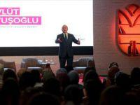 Çavuşoğlu İnsani Dış politikada Türkiye'yi örnek gösterdi