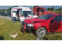 Akyazı'da Trafik Kazası: 3'ü Çocuk Toplam 4 Yaralı