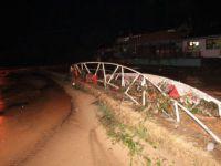 Zonguldak'ta Sağanak Yağış Nedeniyle Dere Taştı, Köprü Yıkıldı