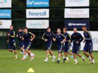 Fenerbahçe, Vardar Maçı Hazırlıklarını Sürdürdü