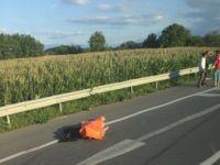 Otomobilin Çarptığı Motosikletli Hayatını Kaybetti (Yahya Çetin)