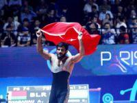 Milli Güreşçi Soner Demirtaş Dünya Üçüncüsü