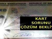 Makedonya'da Kimlik Kartı Sorunu Çözüm bekliyor