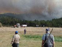 Kütahya, Emet'teki Orman Yangını Kontrol Altına Alınamıyor