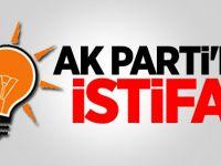 AK PARTİ'de istifa geldi!