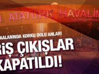 Atatürk Havalimanı'nda büyük panik! Atatürk Havalimanında uçak düştü