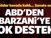 ABD Yine yaptı yapacağını! Barzani'ye bakınız nasıl bir yol açtı