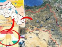 Barzani'nin Haritasında büyük rezalet! 26 Türk Vilayetini Bakın ne yaptı..