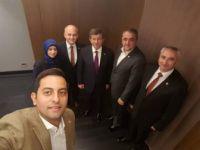 Ahmet Davutoğlu'ndan TDP lideri Beycan İlyas'a Ziyaret