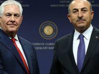 Çavuşoğlu İle ABD Dışişleri Bakanı Tillerson Telefonda Görüştü
