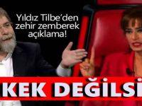 Yıldız Tilbe Twitter'dan Ahmet Hakan'a fena çaktı: 'Erkek değilsin, ahmak, zavallı'