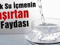 Soğuk su yerine sıcak veya ılık su içerek vücudunuzu daha mükemmel hale getirin...
