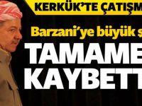 Barzani'ye büyük şok! Kerkük'ü tamamen kaybetti