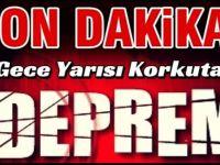 İzmir'de korkutan deprem