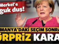 Merkel'e soğuk duş! 6 yılın dibini gördü
