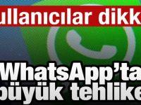 Whatsapp'ta büyük tehlike! Herkes aynı hatayı yapıyor