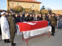 Kazada Hayatını Kaybeden Uzman Çavuş Nuri Şanlı Toprağa Verildi