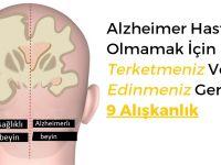 Alzheimer Hastası Olmamak İçin Acilen Terketmeniz Ve Edinmeniz Gereken 9 Alışkanlık