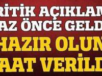 Bakan Eroğlu'ndan hava durumu uyarısı