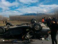 Sakarya, Akyazı'da Trafik Kazası: 3 Yaralı