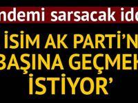 Cumhurbaşkanı Erdoğan'a parti içerisinden rakip iddiası! Ankara'yı sarsan iddia