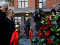 Türkiye'de öldürülen Rus Büyükelçi Karlov, Moskova'da Anıldı