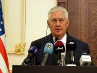 Abd Dışişleri Bakanı Tillerson'dan Trump'a Destek