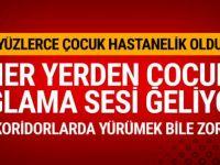 Türkiye'de 2018'in en kötü haberi! Yüzlerce çocuk hastanelik oldu