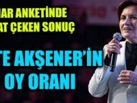 SONAR anketinde Erdoğan yüzde 38,9 Akşener