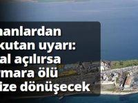 Uzmanlardan korkutan uyarı: Marmara ölü denize dönüşecek