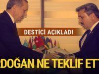 Erdoğan teklif etti! BBP Lideri Destici ise kabul etmedi! Bakınız o teklif neydi.