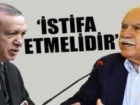 Doğu Perinçek'ten Cumhurbaşkanı Erdoğan'a; 'ya istifa edin ya da...'