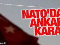 Sıcak gelişme...Sıcak gelişme.. NATO'dan Ankara kararı