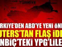 Türkiye'den ABD'ye son dakika Münbiç önerisi!