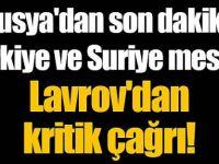 Büyük hareketlilik! Rusya'dan son dakika Türkiye ve Suriye mesajı!