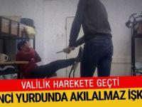 Öğrenci yurdunda akılalmaz işkence: Valilik harekete geçti!