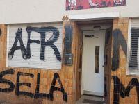 TGB Köln bürosuna terör örgütü sempatizanlarından alçak saldırı!