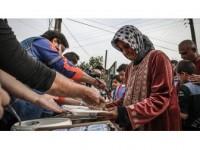 Afad'dan Cinderes'in Köylerinde Sıcak Yemek İkramı